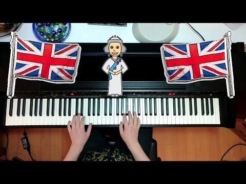 God Save the Queen - UK National Anthem - Piano Version