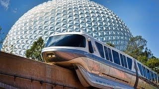 Walt Disney World Monorail to Epcot 2013 HD POV Ride through