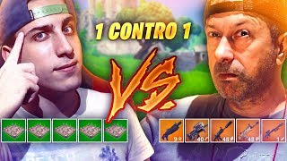 SFIDO PAPA'! 1v 1 contro Mio Padre! Fortnite Battle Royale ITA!