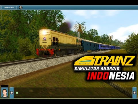 Kereta biru malam (BIMA) /DOWNLOAD ADD ONS TRAINZ SIMULATOR - 동영상