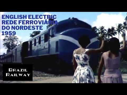 English Electric - RFN - Rede Ferroviária do Nordeste - 1959