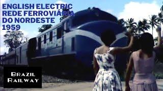English Electric - RFN - Rede Ferroviária do Nordeste - 1959