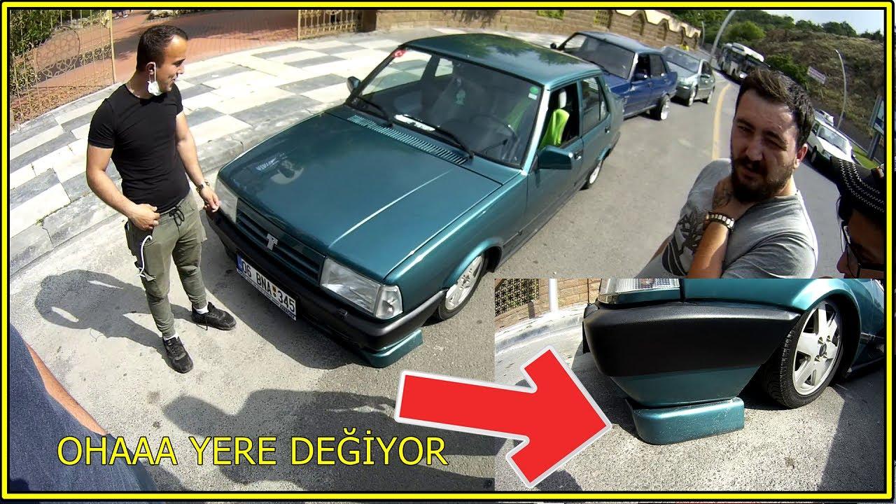 Dip Basık TOFAŞK Çektim / Air'i Arızalı Tampon Yere Değiyor Nasıl Çektim / auto recovery