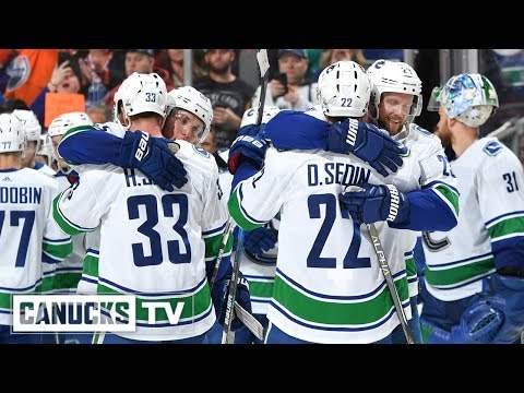 Sedins Celebrated at Rogers Place in Final NHL Game (Apr. 07, 2018)