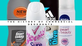 The history of commercial deodorants. (English)