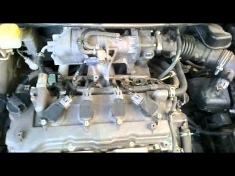 Работа двигателя Nissan