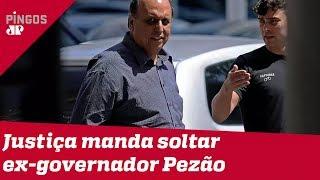STJ manda solta ex-governador Pezão