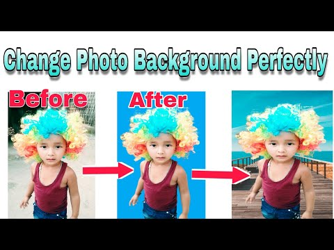How To Remove Your Photo Background  Perfectly (Photo Editor Must Watch)