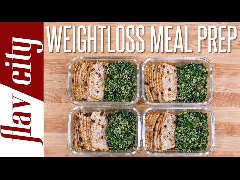 Tasty Weight Loss Recipes That Don't Suck – Chicken Meal Prep Under 400 Calories