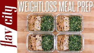 Tasty Weight Loss Recipes That Don't Suck - Chicken Meal Prep Under 400 Calories