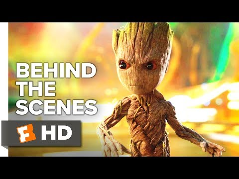 Guardians of the Galaxy Vol. 2 Behind the Scenes - Filming with Baby Groot (2017)