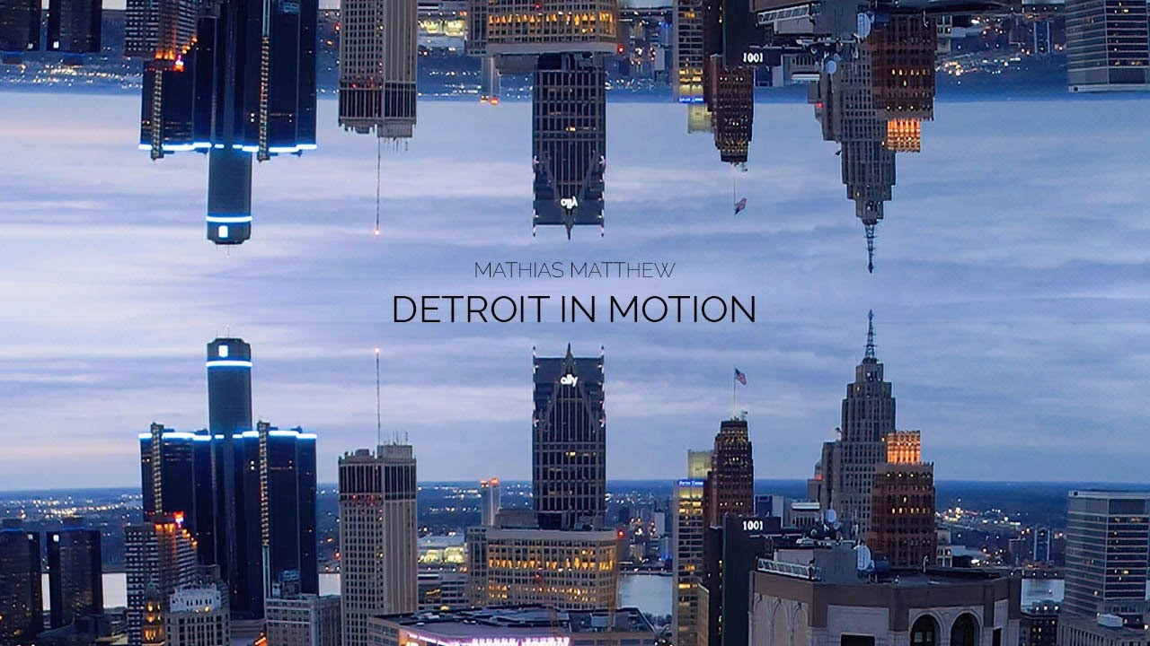 Detroit In Motion | 4K Anamorphic Drone Footage