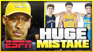 LaVar's STUPID Decision That Might END The BALL Family's Popularity