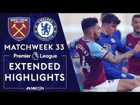 West Ham v. Chelsea | PREMIER LEAGUE HIGHLIGHTS | 4/24/2021 | NBC Sports