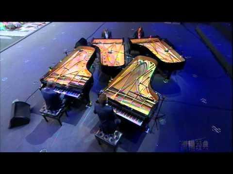 2014.7.17 MISA Gershwin Piano Quartet Concert八爪蓝调 格什温四钢琴重奏音乐会