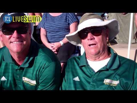 Jeff Boss And Jim Montrella Concordia Swim 2013 Pacific Collegiate Swim & Dive Conference Champs
