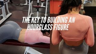 THE KEY TO BUILDING AN HOURGLASS FIGURE | MY FAVORITE UPPER BODY WORKOUTS