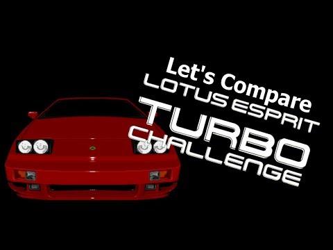 Let's Compare ( Lotus Espirit Turbo Challenge )