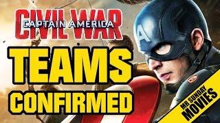 EXCLUSIVE! CIVIL WAR Promo Art & Teams Confirmed