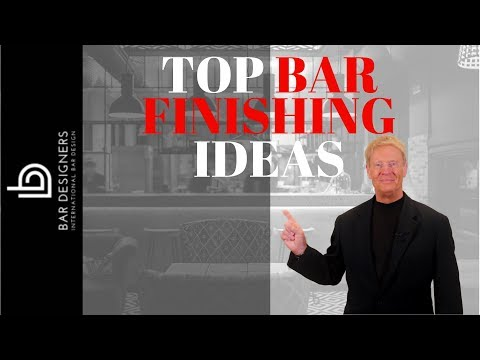 commercial bar design a top 7 list of bar finishing ideas youtube