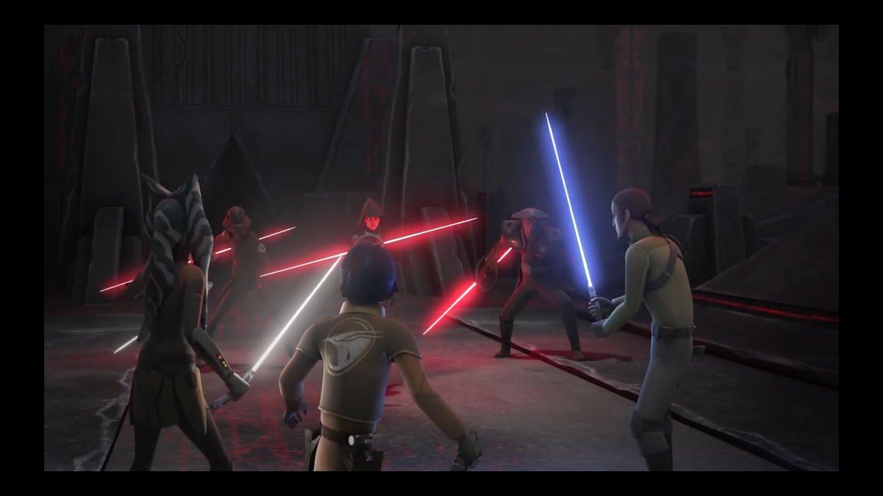 Darth Vader Wallpaper Hd Darth Maul Ezra Ahsoka I Kanan Vs Inkwizytorzy Hd Youtube