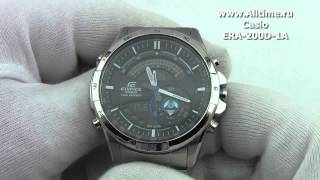 Мужские японские наручные часы Casio Edifice ERA-200D-1A(Подробное описание: http://www.alltime.ru/catalog/watch/374/casio-edifice/Man/9162/detail.php?ID=666584&back=list., 2013-05-22T08:06:50.000Z)