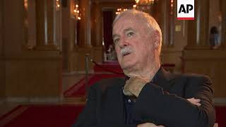 John Cleese on the world needing comedy, Brexit and his new BBC sitcom