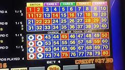"""4 Card Keno: 5 spot """"L"""" Pattern system"""