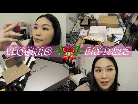 VLOGMAS DAY 11&12♥ Christmas gifts arrived | ANGELBIRDBB