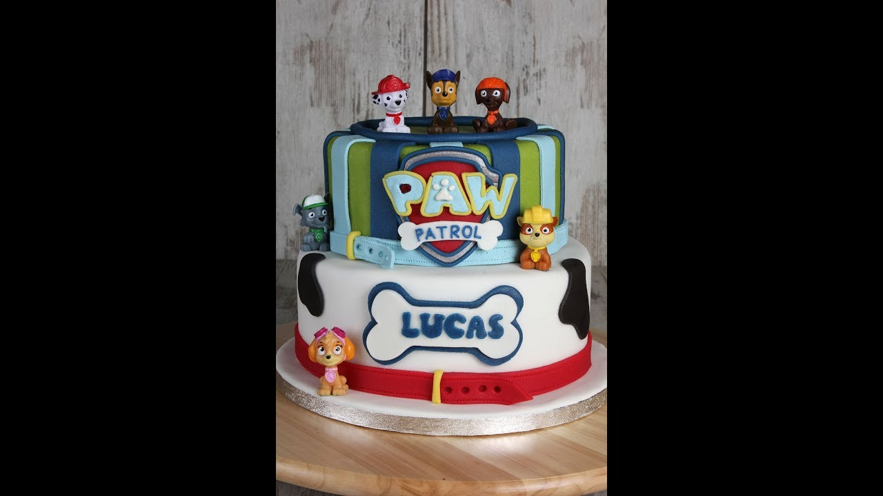 Paw Patrol Torte Cake Tutorial Youtube