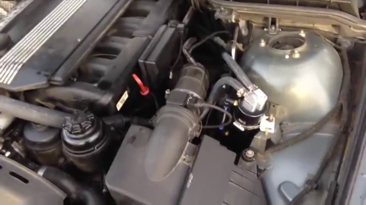How To Bmw Ccv Oil Separator Delete Using Oil Catch Can