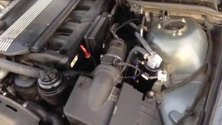 How To BMW CCV Oil Separator Delete Using Oil Catch Can Instead e39 e53 e46 E60 X3 X5