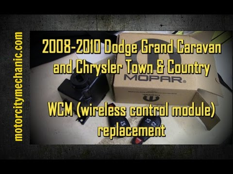 2008-2010 Dodge Grand Caravan And Chrysler Town And Country WCM Replacement