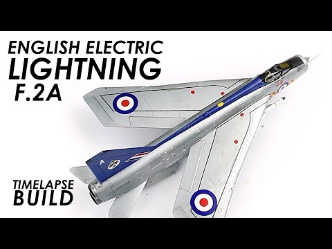 Airfix Lightning Build & Review - 1:72 Scale Kit