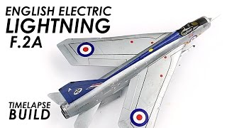Gebouw Airfix EE Lightning - Model Vliegtuig