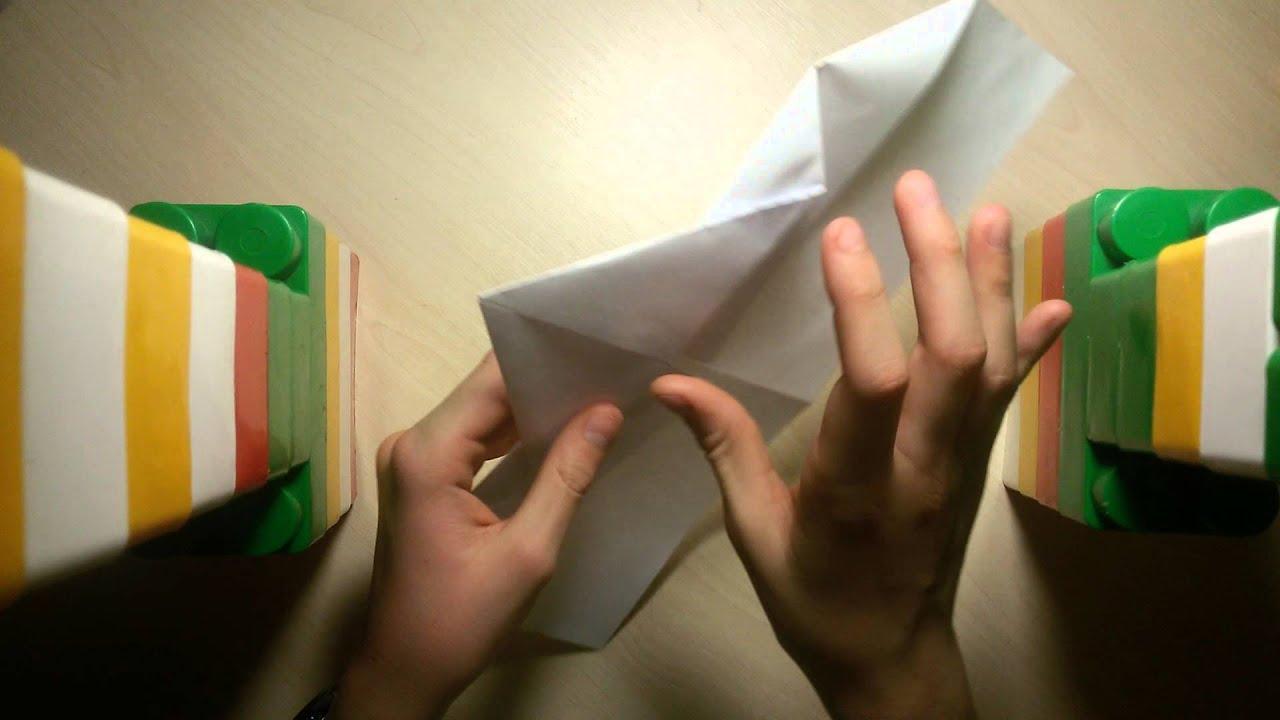 Как сделать из бумаги бомбардировщик фото 872
