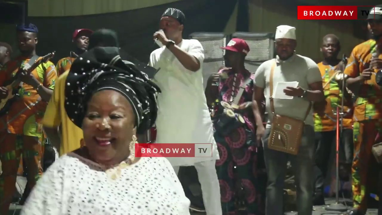Download Sauty Arewa Performs At The 60th Birthday Party Of Actress Yetunde Wunmi