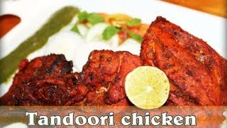 Tandoori Chicken In Microwave And Green Chutney | Sharmilazkitchen