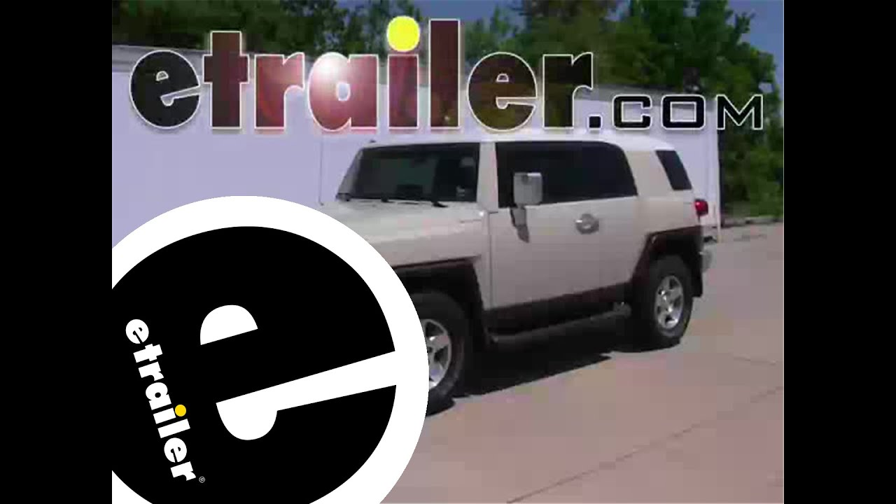 installation of a trailer wiring harness on a toyota fj installation of a trailer wiring harness on a 2008 toyota fj cruiser etrailer com