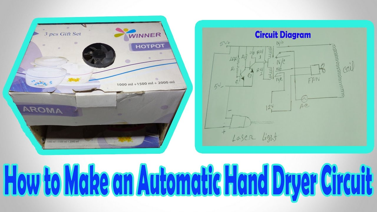 Hand Dryer Circuit Diagram - Trusted Schematic Diagrams •
