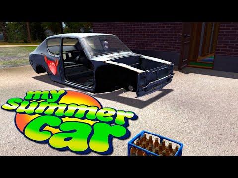 Из ГуАнА и палок ,соберем автомобиль - My Summer Car 👍