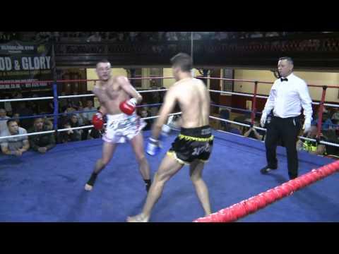 Dominik Matusz Perun Gym vs Mo Abduraman Lookborai Gym - KO Blood and Glory 6