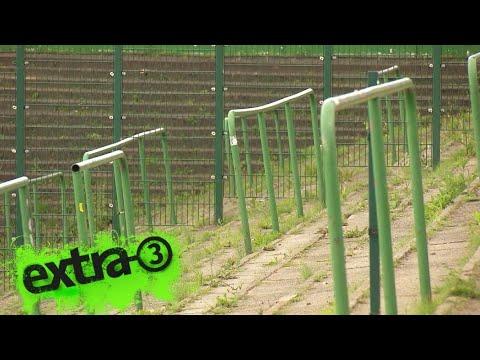 Realer Irrsinn: Fantribüne ohne Fans beim VfB Lübeck | extra 3 | NDR