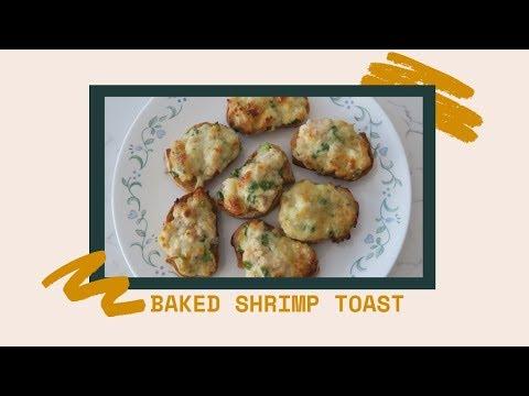 Baked Shrimp Toast