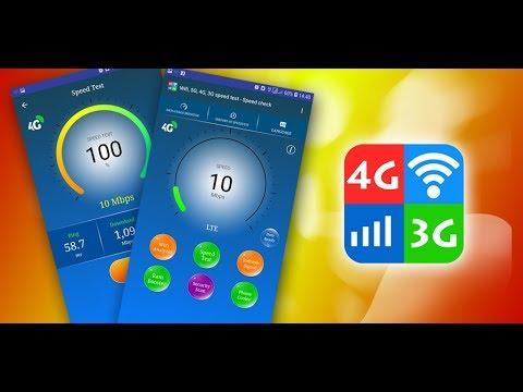 Wifi, 5G, 4G, 3G speed test - Speed check - Apps on Google
