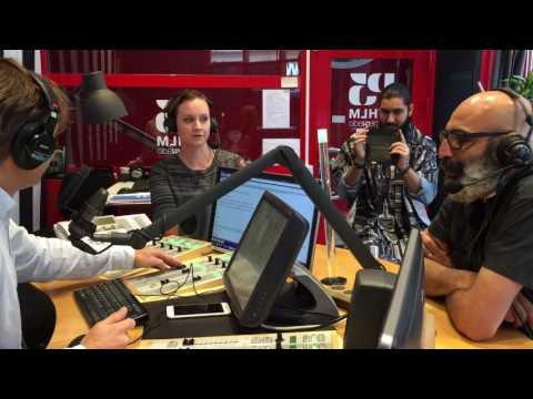 Radio Interview with Farzad for World Beard Day 2016 in Stockholm