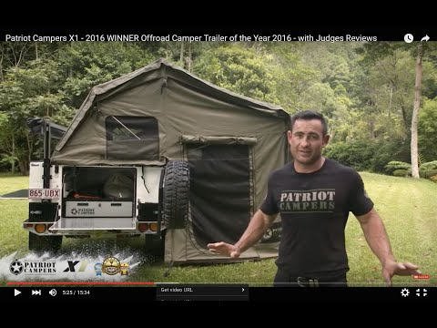 Patriot C ers X1 2016 WINNER Offroad C er Trailer of the Year 2016 with Judges Reviews