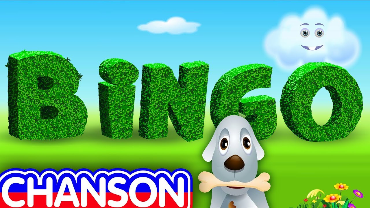 bingo en fran ais comptines et chansons pour enfants chuchu tv youtube. Black Bedroom Furniture Sets. Home Design Ideas