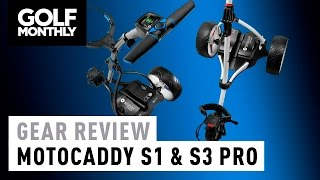 Motocaddy S1 & S3 Pro Electric Trolley Review