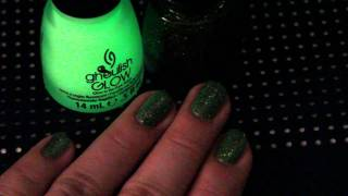 China Glaze - It's Alive and Ghoulish Glow (Haunting Halloween Collection 2011 ) Thumbnail